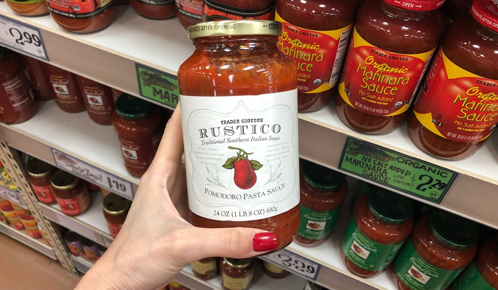 trader giottos rustico tomato sauce