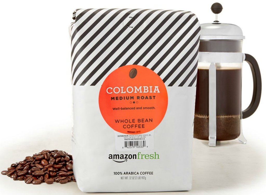 AmazonFresh Whole Bean Coffee 32oz