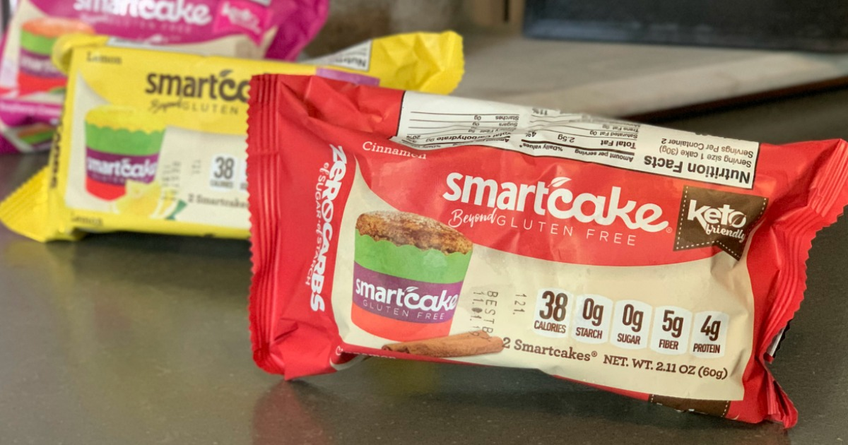smartcake packages on kitchen counter