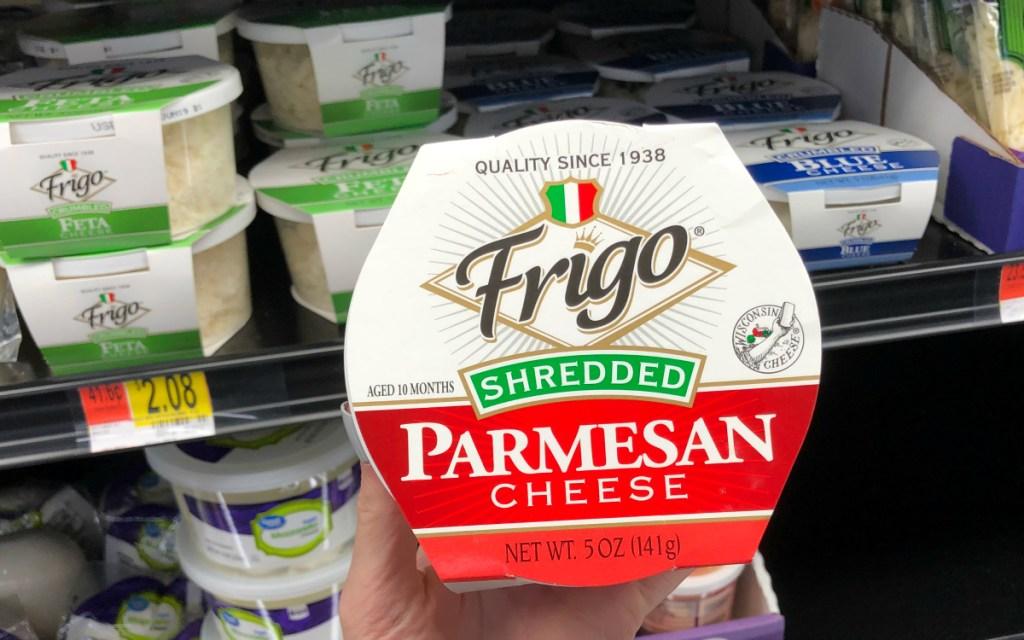 Frigo cheeses at Walmart