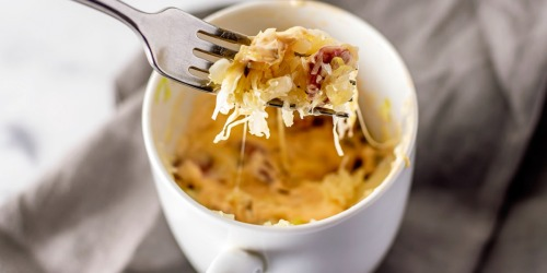 This Easy and Yum Keto Reuben in a Mug is a Team Fave!