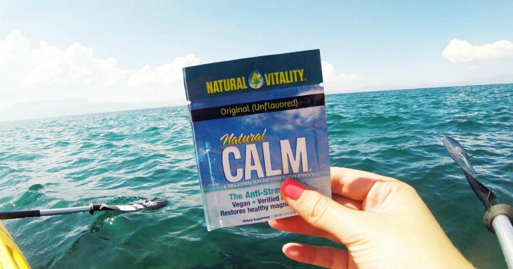 Natural Vitality Natural Calm Magnesium sample