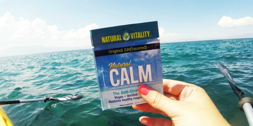 Request FREE Natural Calm Magnesium Sample (Awesome Supplement for the Keto Diet)