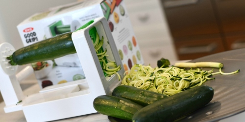 Make Low-Carb Zoodles With This Highly Rated OXO Tabletop Spiralizer (+ It's On Sale!)