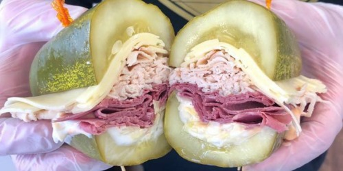 Love Pickles? This New Jersey Sandwich Shop Will Serve Your Sammy on a Really Big Dill