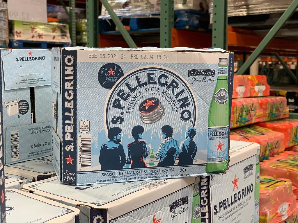 S. Pelligrino at Costco