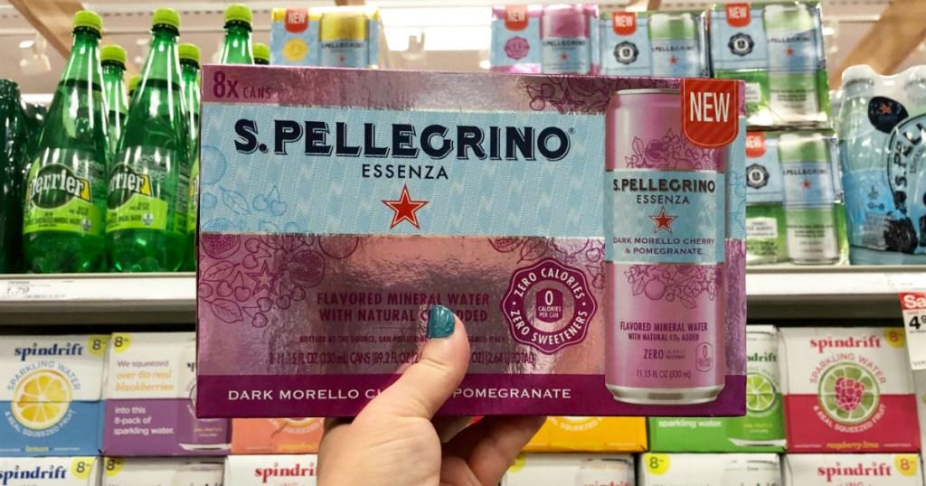 S. Pellegrino Essenza Mineral Water