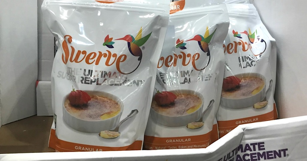 Large bags of Swerve at Costco