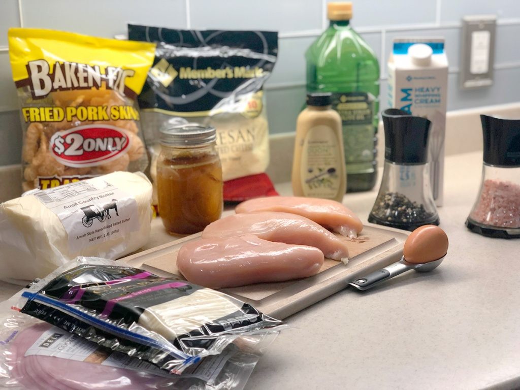 ingredients to make chicken cordon bleu