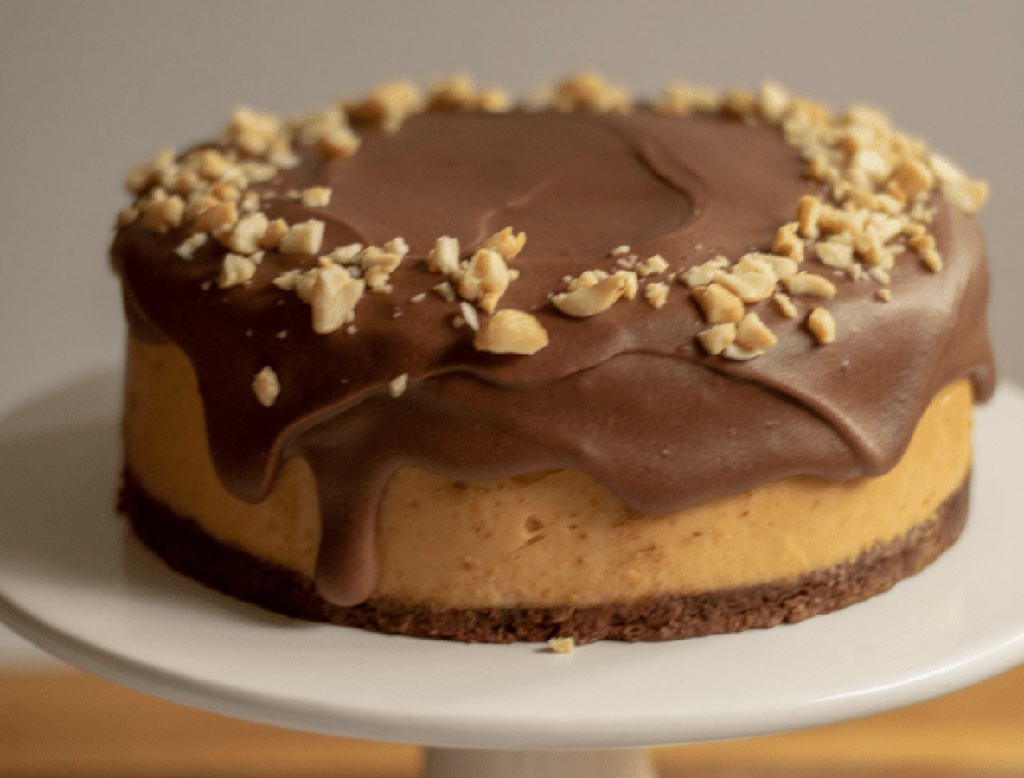instant pot chocolate peanut butter cheesecake from This Mom's Menu