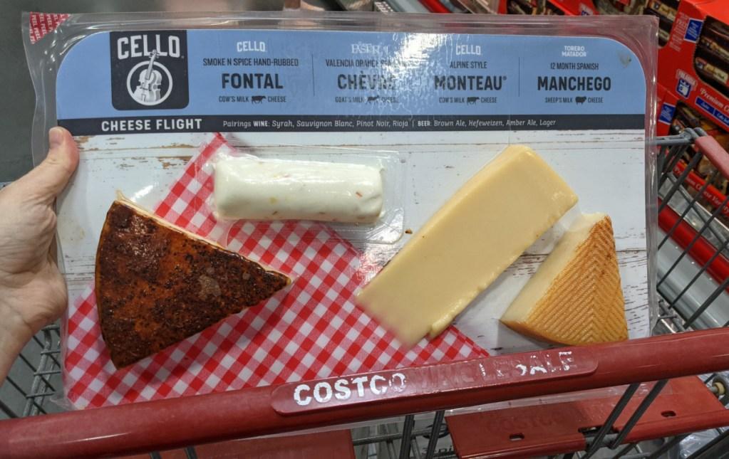 cheese flight costco in cart
