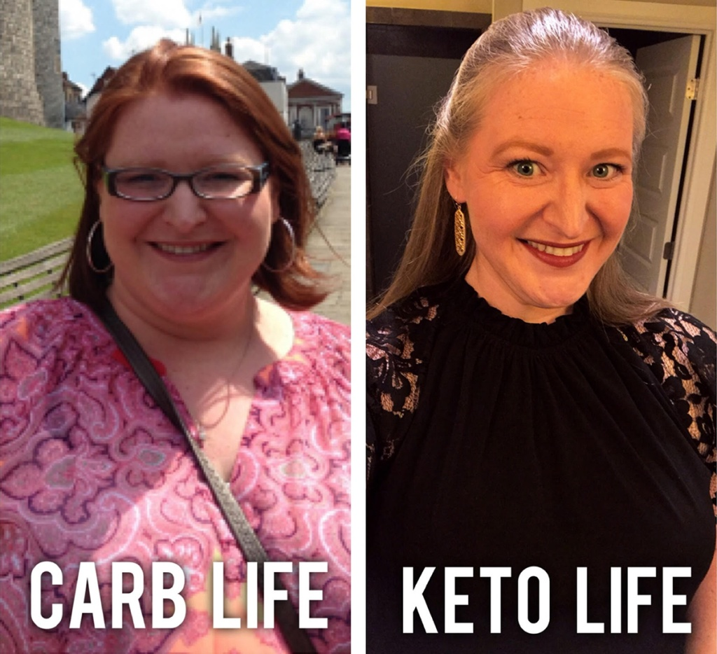 ek blair before and after keto