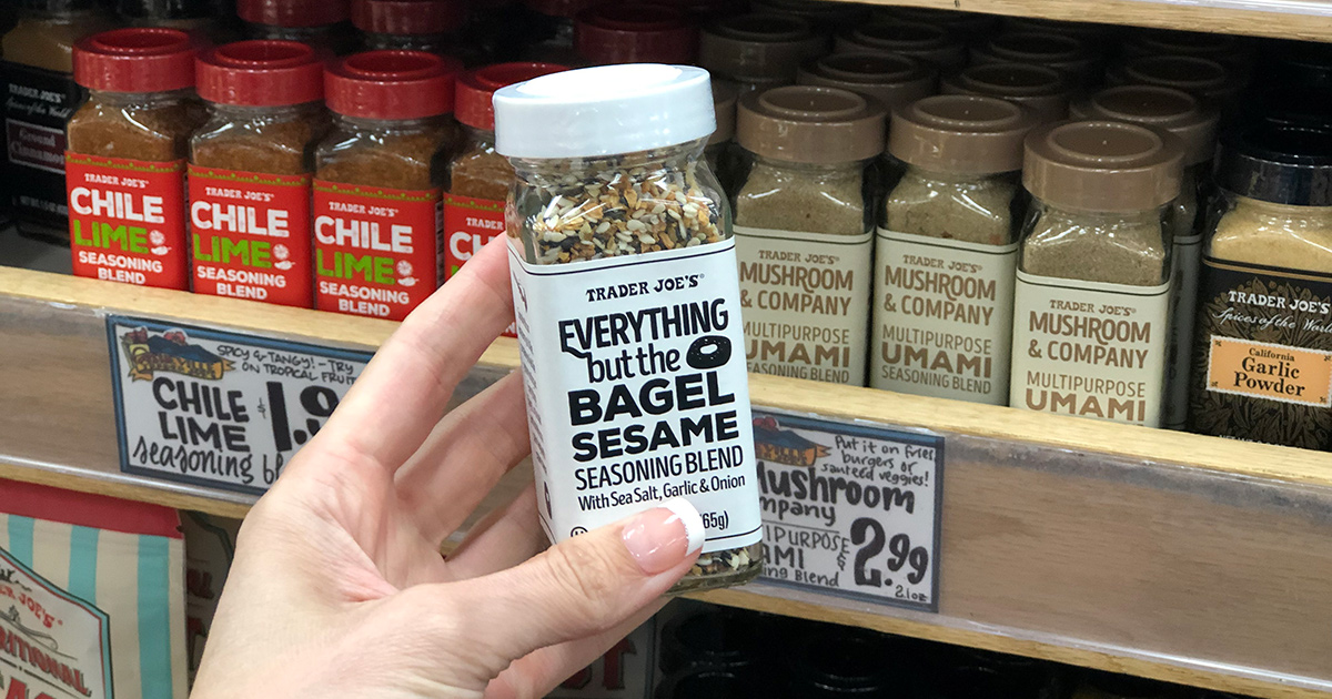 everything but the bagel seasoning blend from trader joe's