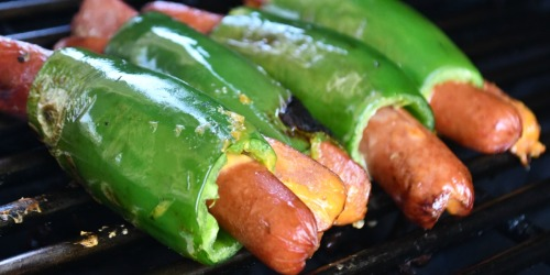Grill Up These Low-Carb Cheesy Jalapeno Hot Dogs