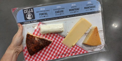 Costco Sells a Large Specialty Cheese Flight That's a Cheese Lover's Dream