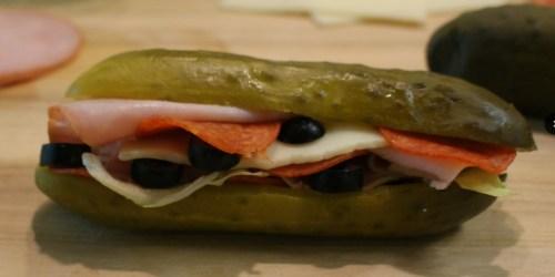 No Bread? No Problem! Keto Pickle Sandwich to the Rescue