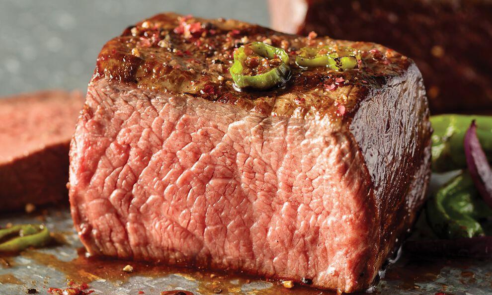juicy omaha steak