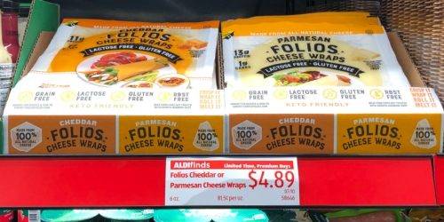 Watch for These Keto Cheese Wraps at ALDI