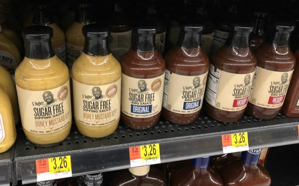G Hughes sugar free dipping sauce on shelf