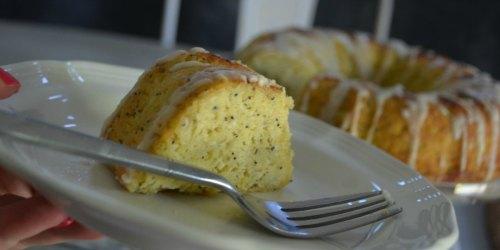 Keto Lemon Poppy Seed Bundt Cake