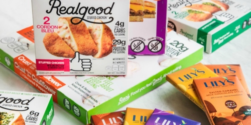 Don't Miss This Keto Deal – Get 6 Free Lily's Chocolate Bars With Any Real Good Foods Order