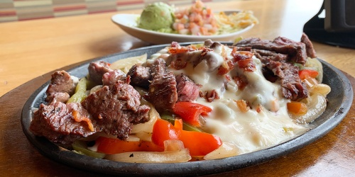 How to Order Applebee's Loaded Fajitas Keto Style