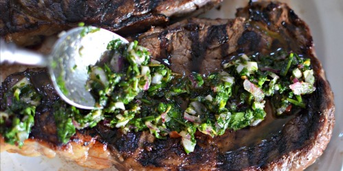 You'll Want to Drizzle This Easy Chimichurri Sauce on All Your Keto Meals!