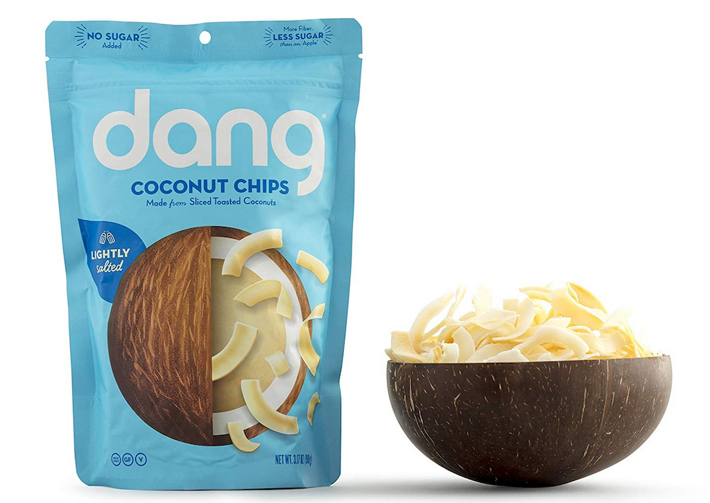 Dang unsweetened coconut chips