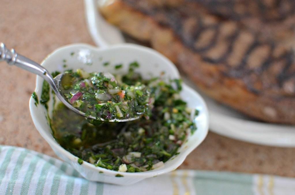 easy recipe for chimichurri sauce