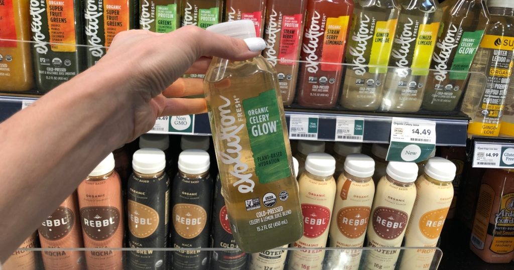 Evolution Glow Organic Celery Juice