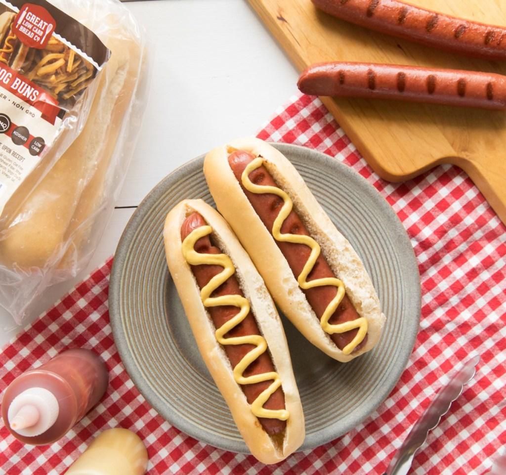great low carb bread company keto hot dog buns