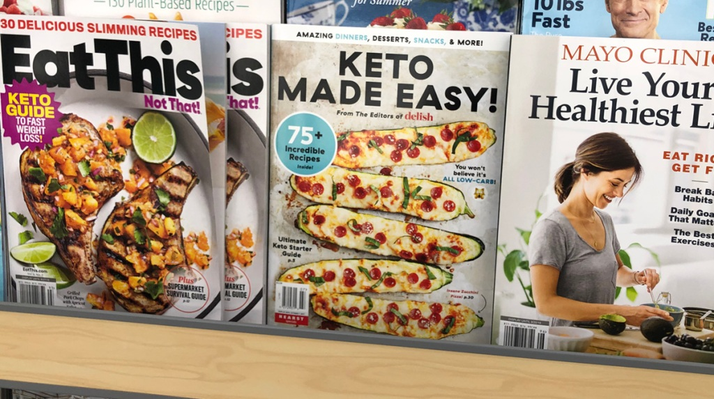 keto made easy bookazine