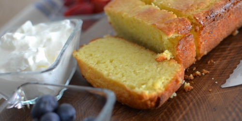 Your Oven Called… It Wants You To Bake This Delicious Keto Lemon Pound Cake!