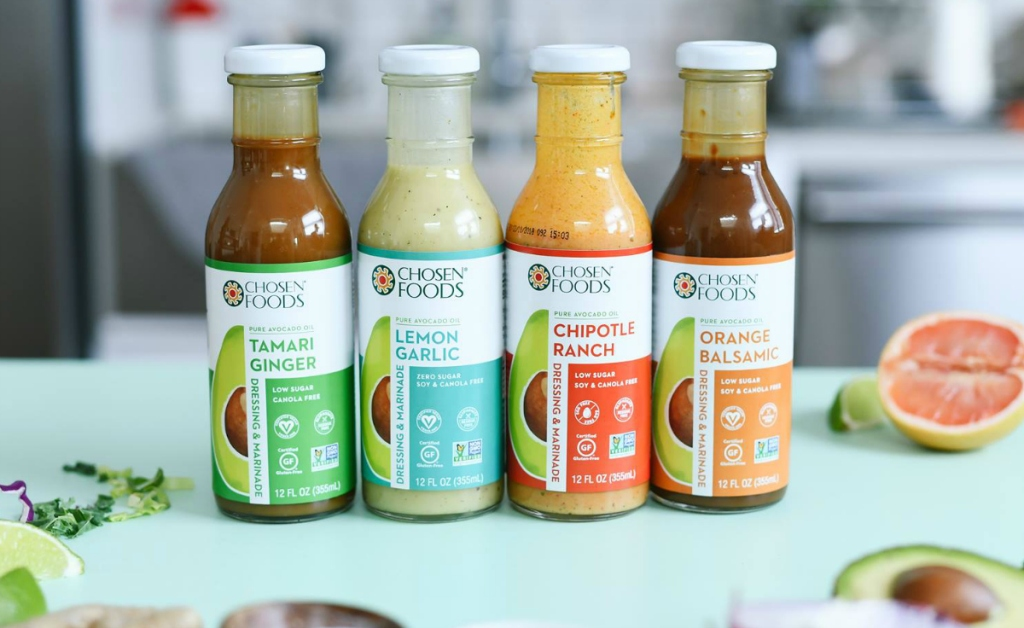 Chosen Foods keto salad dressing
