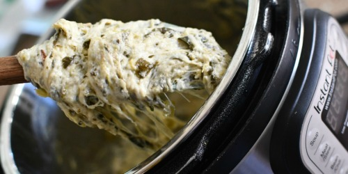 Keto Spinach Artichoke Dip | Easy Instant Pot Recipe