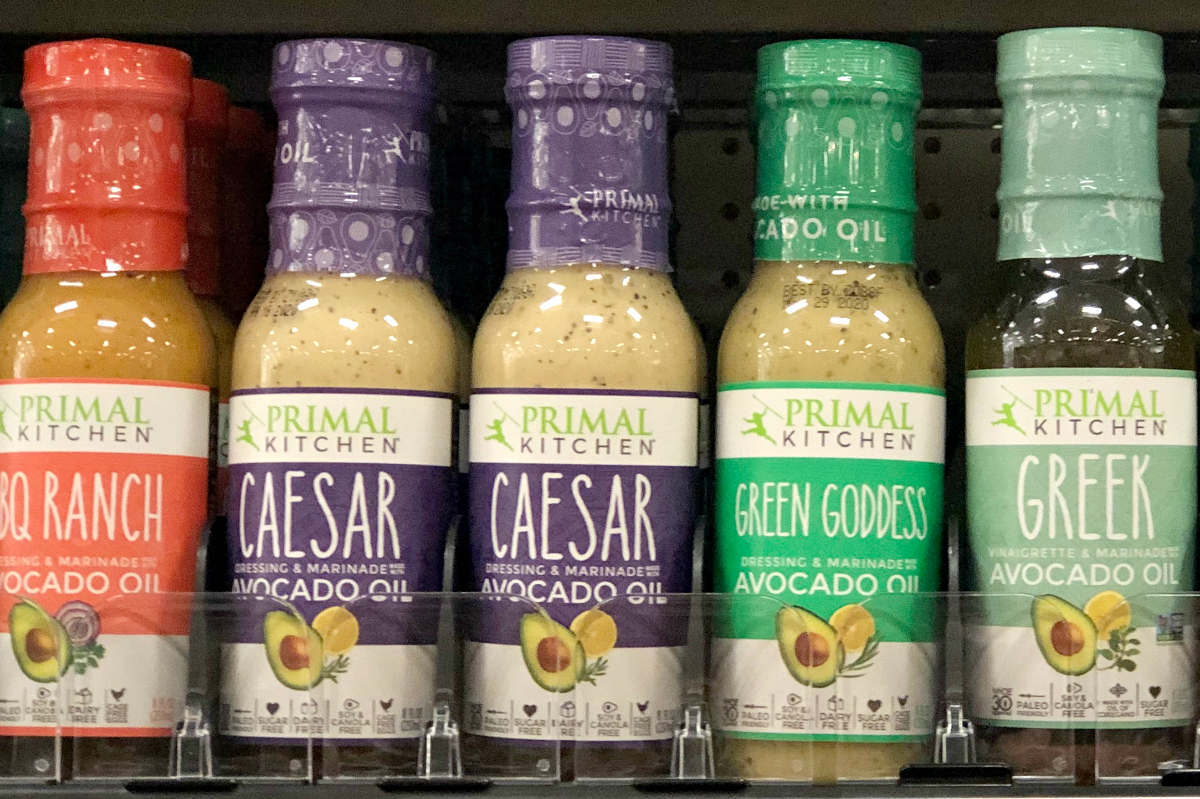 Primal Kitchen keto salad dressing