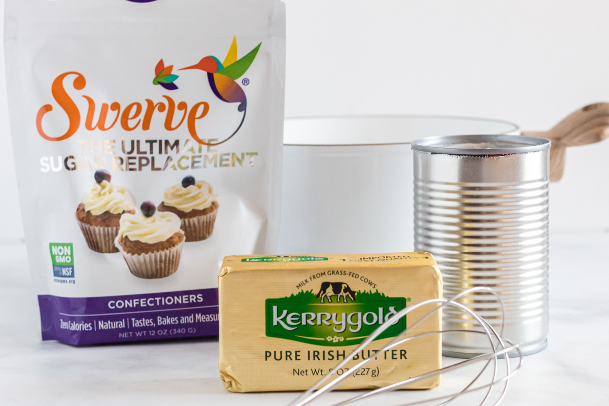 ingredients for keto sweetened condensed milk