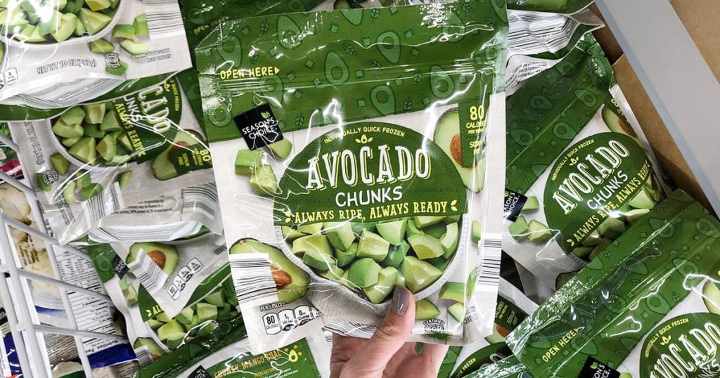 aldi frozen avocado chunks