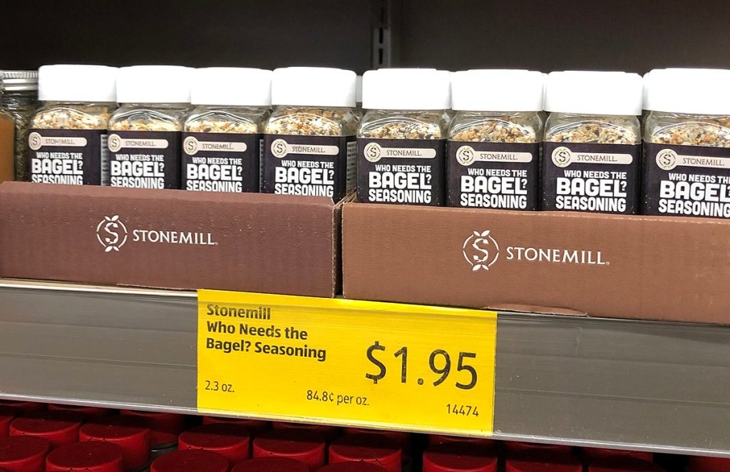 aldi bagel seasoning