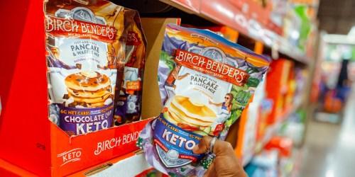 Birch Benders Keto Pancake & Waffle Mix Over 30% Off on Amazon!