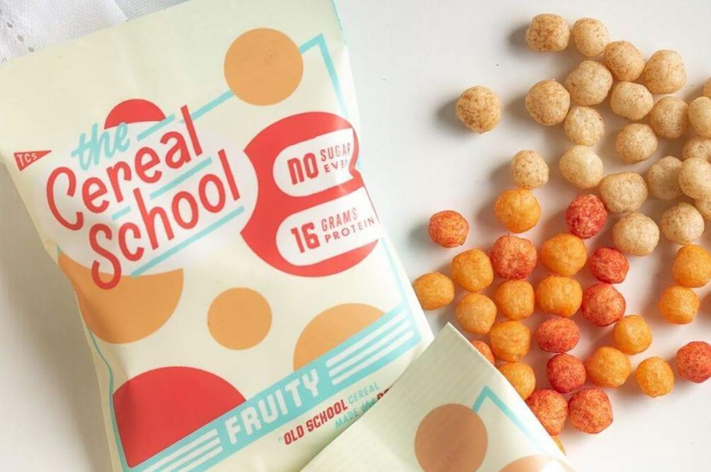 the cereal school cereal bag