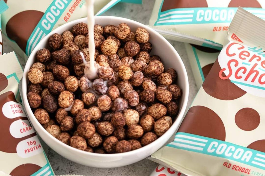 the cereal school cocoa cereal