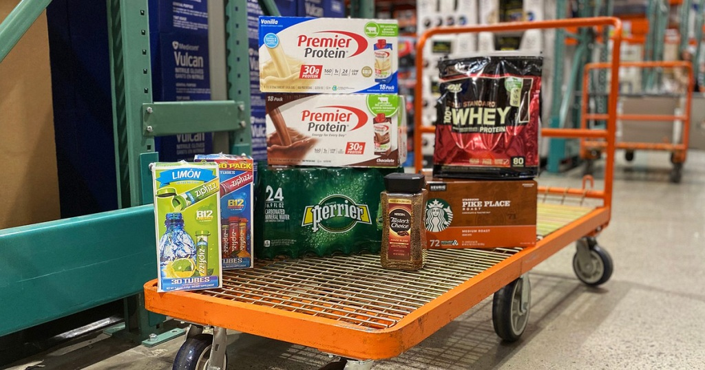 costco keto food on cart