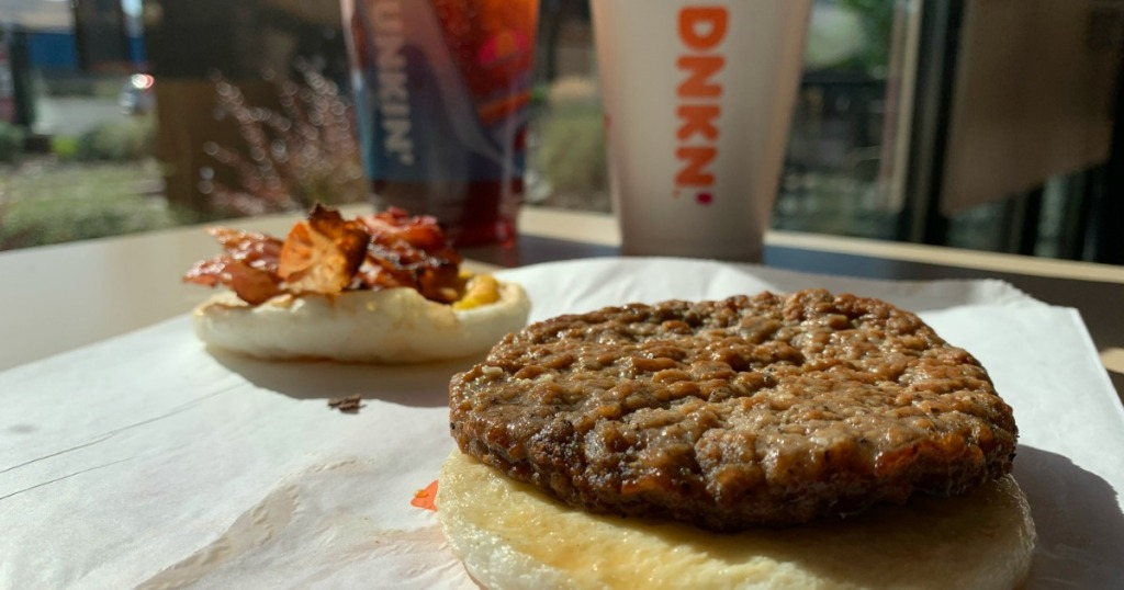 Dunkin' Sausage and Bacon
