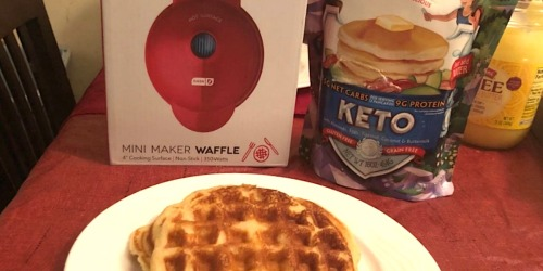 Enjoy Delicious Keto Pancakes & Waffles With This Amazon Deal