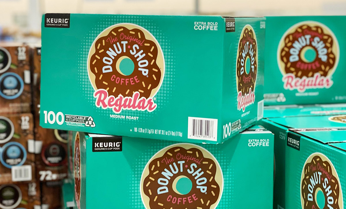 keurig donut shop coffee