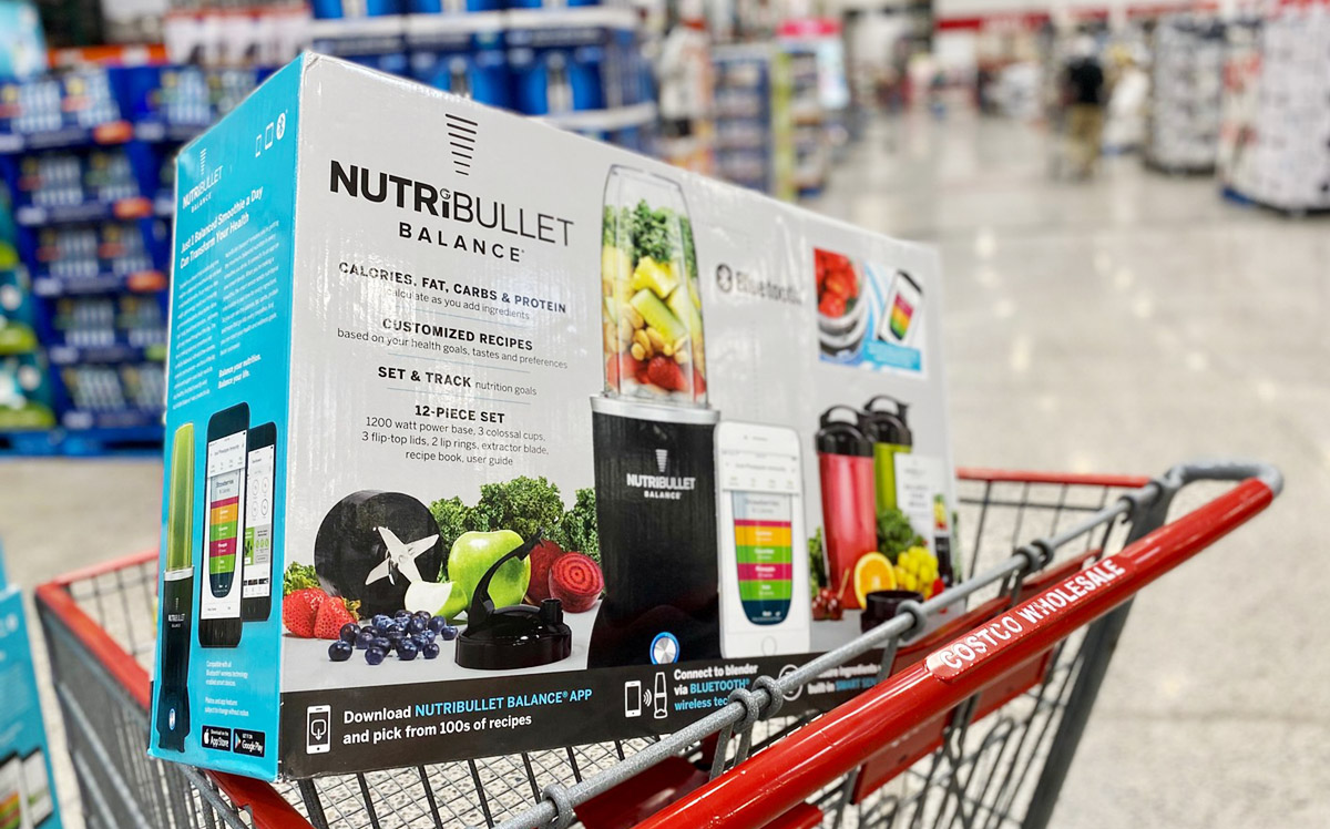 nutribullet in costco shopping cart