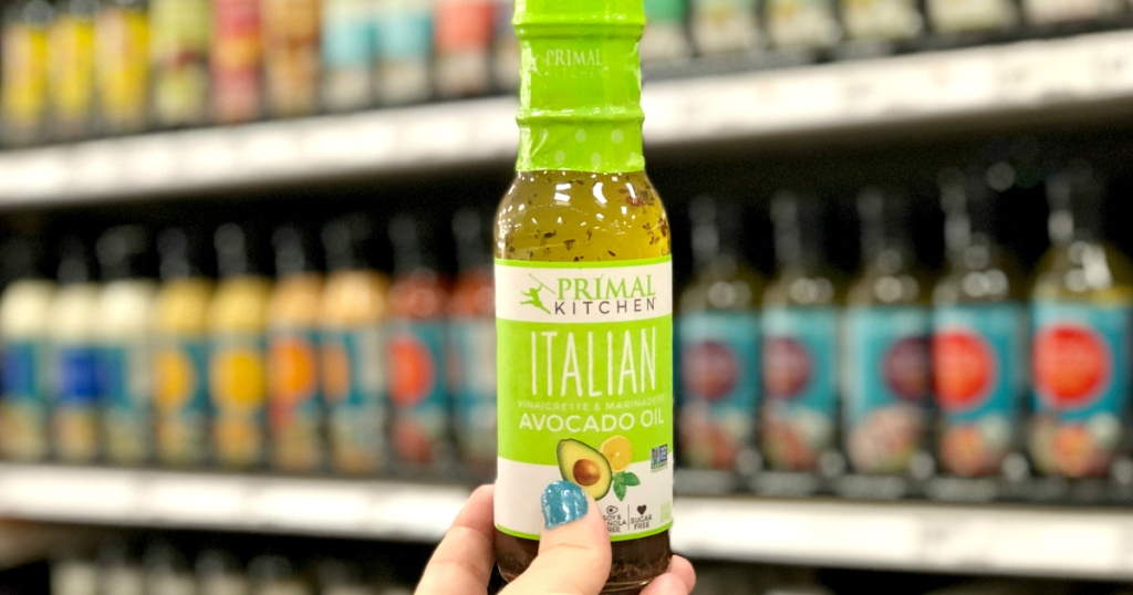 Primal Kitchen Italian keto salad dressing