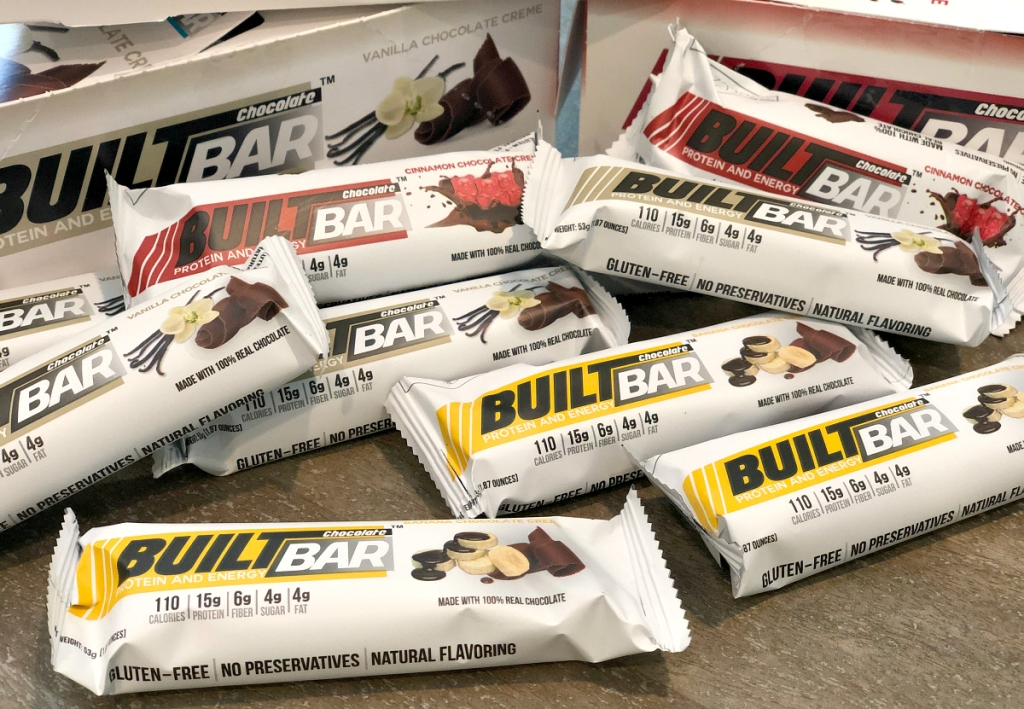 Built Bars variety pack