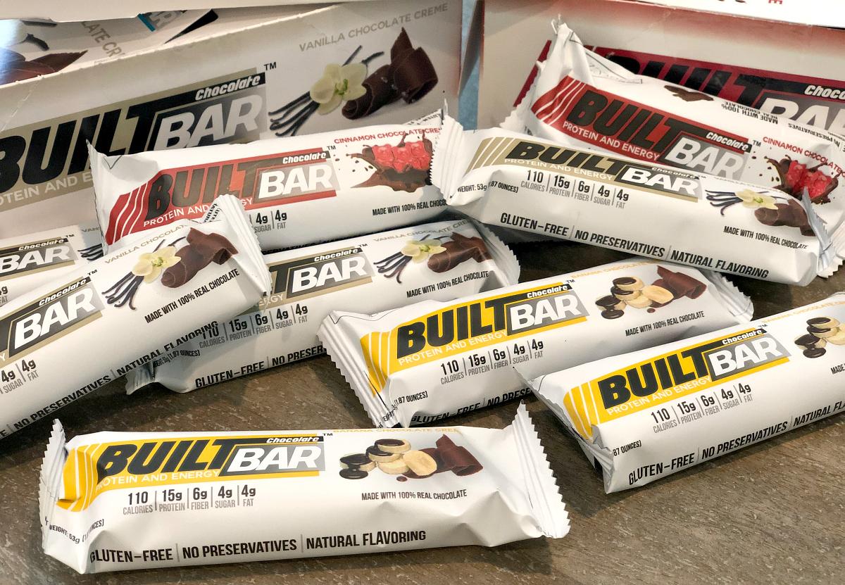 Built Bars variety pack